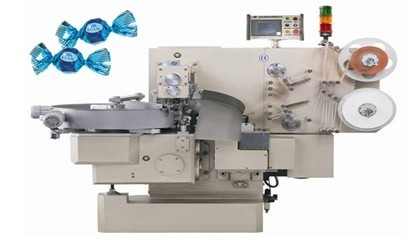 Chocolate single double twist packing machines