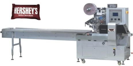 chocolate Pillow type  wrapping machine